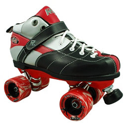 Rock Expression Boys Speed Roller Skates, Red, 256