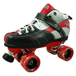 Rock Expression Speed Roller Skates, Red, 256