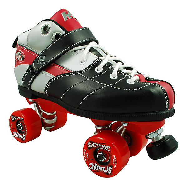 Rock Expression Sonic Speed Roller Skates, Red, 600
