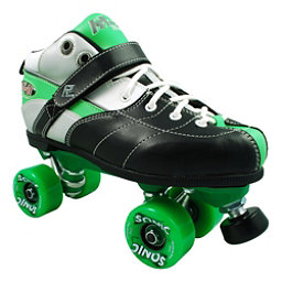 Rock Expression Sonic Speed Roller Skates, Green, 256