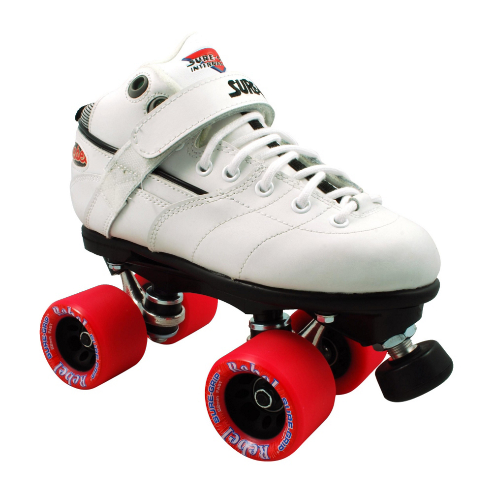 Sure Grip International Rebel White Speed Roller Skates im test