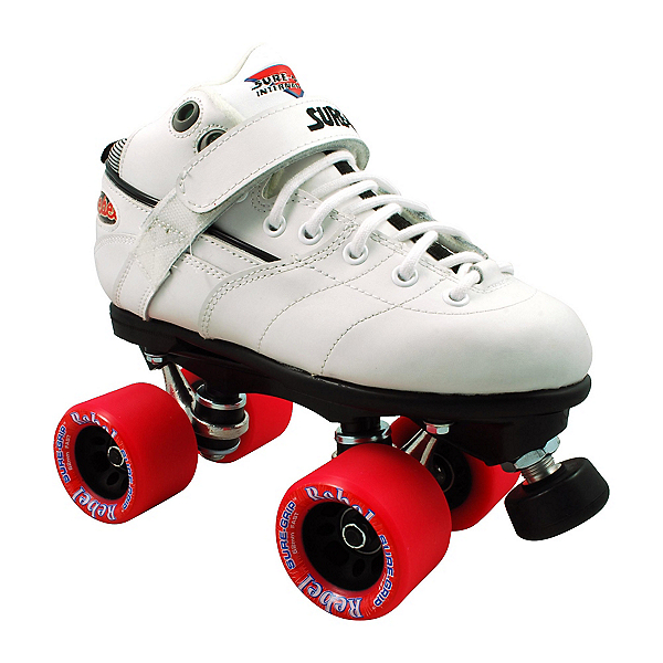 Sure Grip International Rebel White Speed Roller Skates, , 600