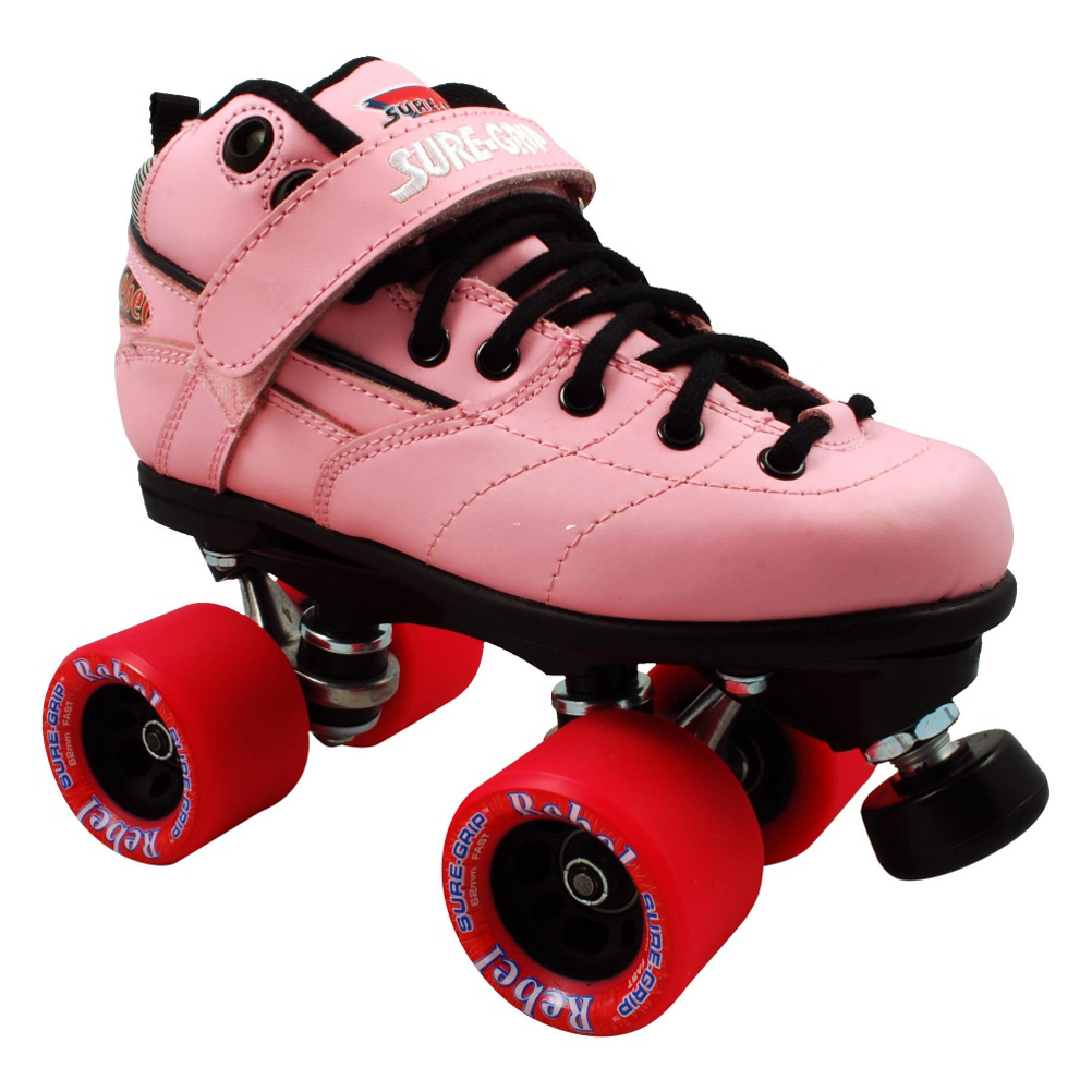 Sure Grip International Rebel Pink Speed Roller Skates im test