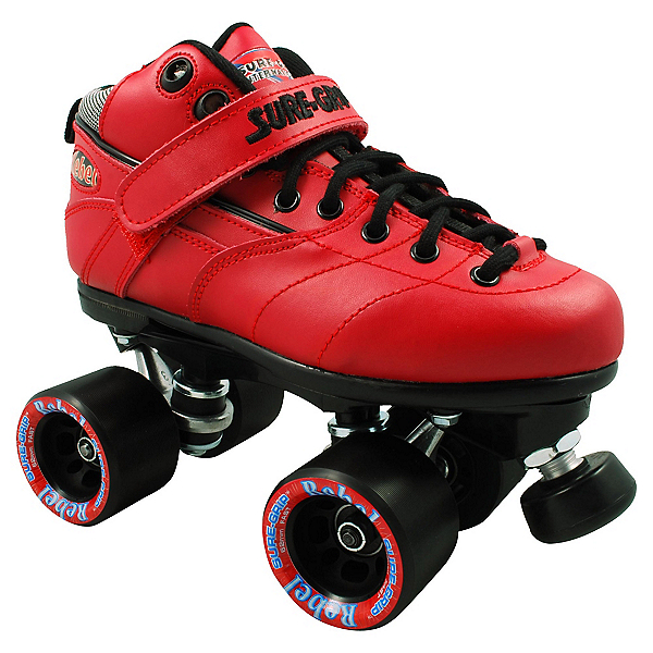 Sure Grip International Rebel Red Speed Roller Skates, , 600