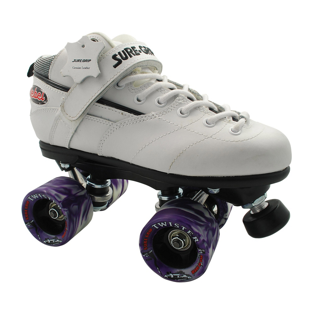 Sure Grip International Rebel Twister White Speed Roller Skates im test