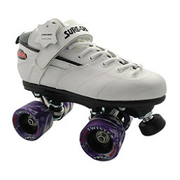 Sure Grip International Rebel Twister White Speed Roller Skates, , 256