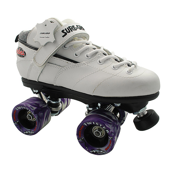 Sure Grip International Rebel Twister White Speed Roller Skates, , 600