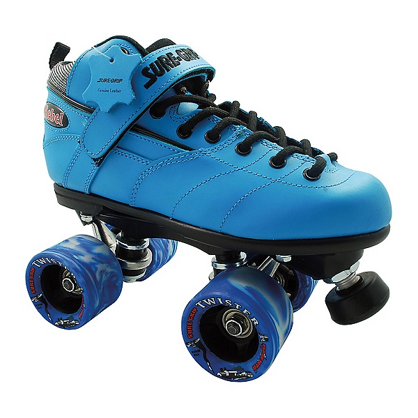 Sure Grip International Rebel Twister Blue Speed Roller Skates, , 600