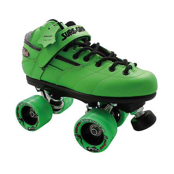 Sure Grip International Rebel Twister Green Boys Speed Roller Skates, , 600