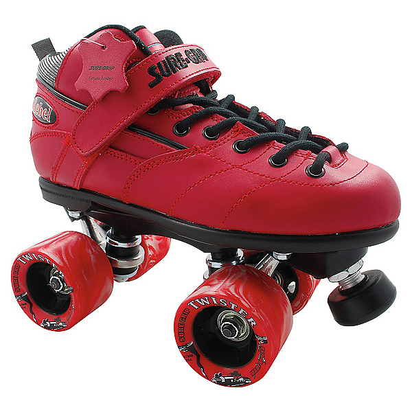 RC Rebel Twister Red Speed Roller Skates, , 600