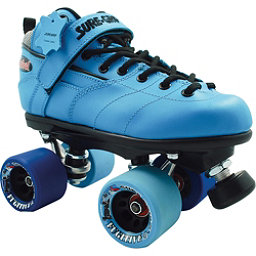 Sure Grip International Rebel Fugitive Boys Speed Roller Skates, Blue, 256