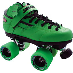 Sure Grip International Rebel Fugitive Boys Speed Roller Skates, Green, 256