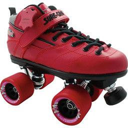 Sure Grip International Rebel Fugitive Boys Speed Roller Skates, Red, 256
