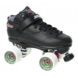 Sure Grip International Rebel Fugitive Speed Roller Skates 2018, Black-White, 256