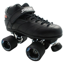 Sure Grip International Rebel Fugitive Speed Roller Skates, Black, 256