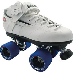 Sure Grip International Rebel Fugitive Speed Roller Skates, White, 256