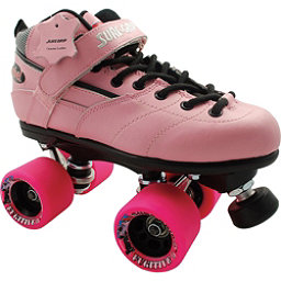 Sure Grip International Rebel Fugitive Speed Roller Skates, Pink, 256