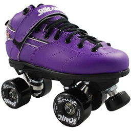 Sure Grip International Rebel Sonic Speed Roller Skates, Purple, 256