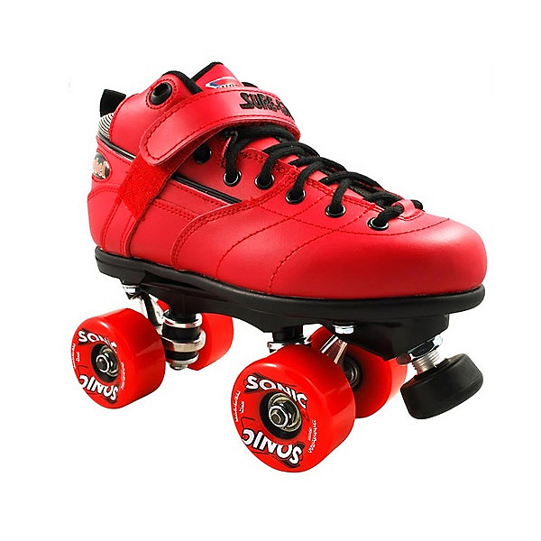 Sure Grip International Rebel Sonic Boys Speed Roller Skates, Red, 600