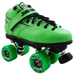 Sure Grip International Rebel Sonic Boys Speed Roller Skates, Green, 256