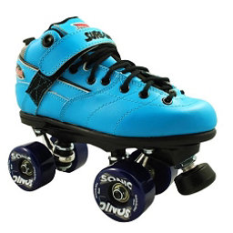 Sure Grip International Rebel Sonic Boys Speed Roller Skates, Blue, 256