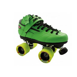 Sure Grip International Rebel Zoom Speed Roller Skates, Green, 256