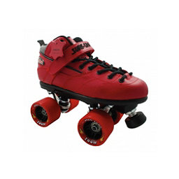 Sure Grip International Rebel Zoom Speed Roller Skates, Red, 256
