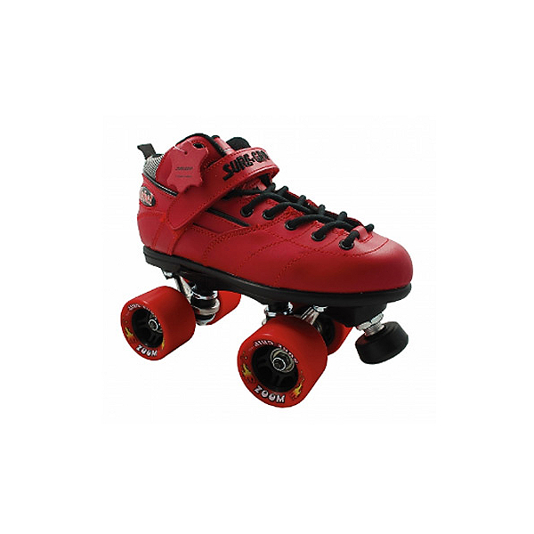 Sure Grip International Rebel Zoom Speed Roller Skates, Red, 600