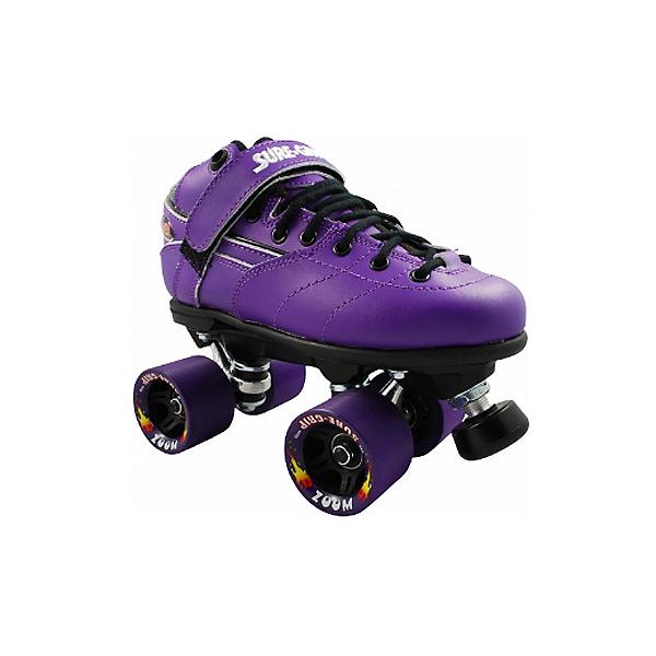 Sure Grip International Rebel Zoom Speed Roller Skates, Purple, 600
