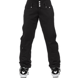 NILS Annalise Womens Ski Pants, Black, 256