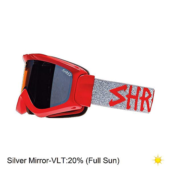 SHRED Yoni II La Tigre Red Goggles, , 600