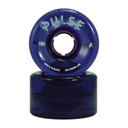 Atom Pulse - 8 Pack Roller Skate Wheels, Purple, 256