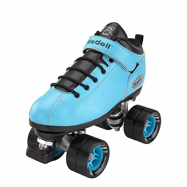 Riedell Dart Aqua Speed Roller Skates, Aqua, 600