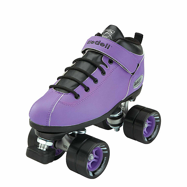 Riedell Purple Dart Speed Roller Skates 2017, Purple, 600