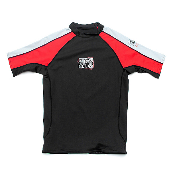 Body Glove 540 8oz Short Arm Lycra Shirt Mens Rash Guard, , 600