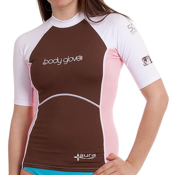 Body Glove Aura 8oz Short Arm Lycra Shirt Womens Rash Guard, , 600