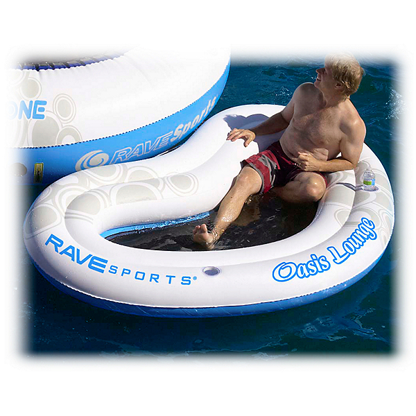 Rave O-Zone Oasis Lounge Water Trampoline Attachment, , 600