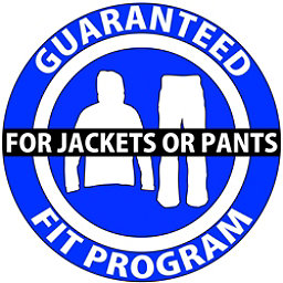 Guaranteed Fit Program For Jackets or Pants, , 256