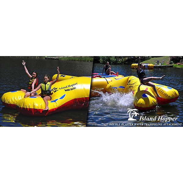 Island Hopper Double Blaster Water Trampoline Attachment, , 600