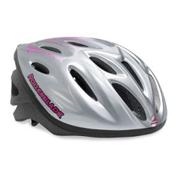 Rollerblade Workout Womens Fitness Helmet 2018, Silver-Purple, 256