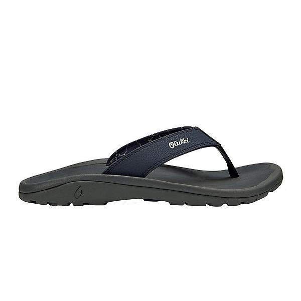 OluKai Ohana Mens Flip Flops, Blue Depth-Dark Shadow, 600