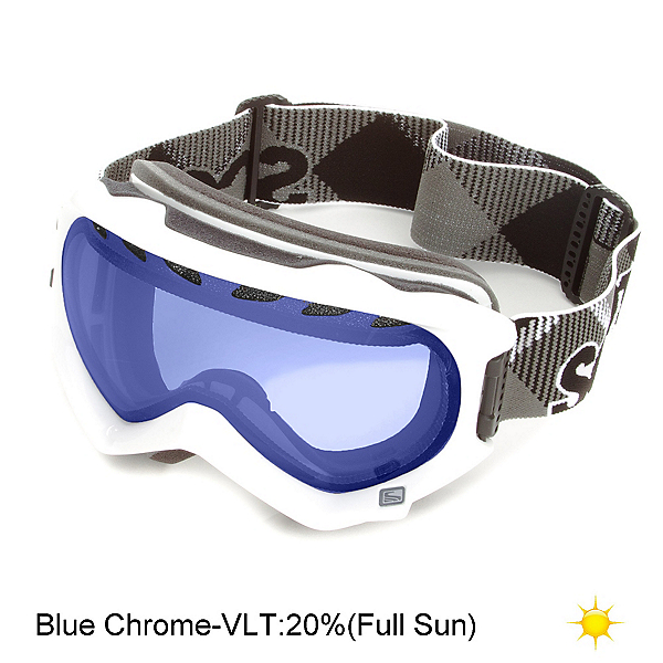 Scott Witness Womens Goggles, White-Blue Chrome, 600