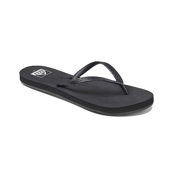 Reef Stargazer Womens Flip Flops, Black, 600