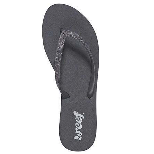 Reef Stargazer Womens Flip Flops, Dark Grey, 600