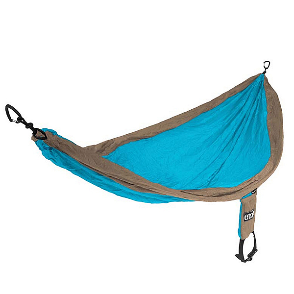 ENO Single Nest Hammock, Teal-Khaki, 600