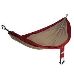 ENO Single Nest Hammock 2017, Khaki-Maroon, 256