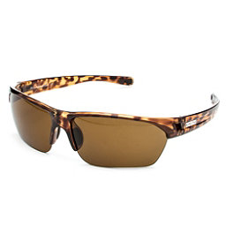 SunCloud Detour Polarized Sunglasses, Tortoise-Brown Polarized, 256