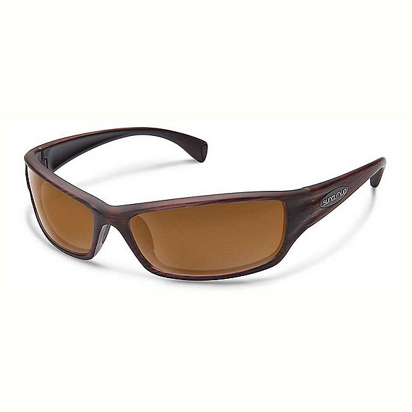 SunCloud Hook Polarized Sunglasses, Burnished Brown-Brown, 600