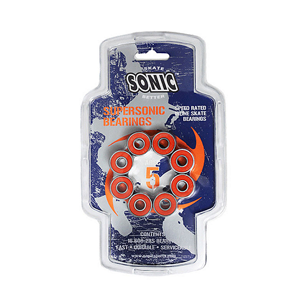 Sonic Supersonic ABEC5 Skate Bearings, , 600