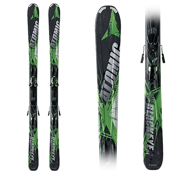 Atomic Blackeye Ti Skis with XTO 12 Bindings, , 600